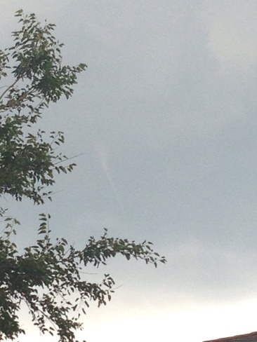 funnel cloud Burlington, Ontario Canada