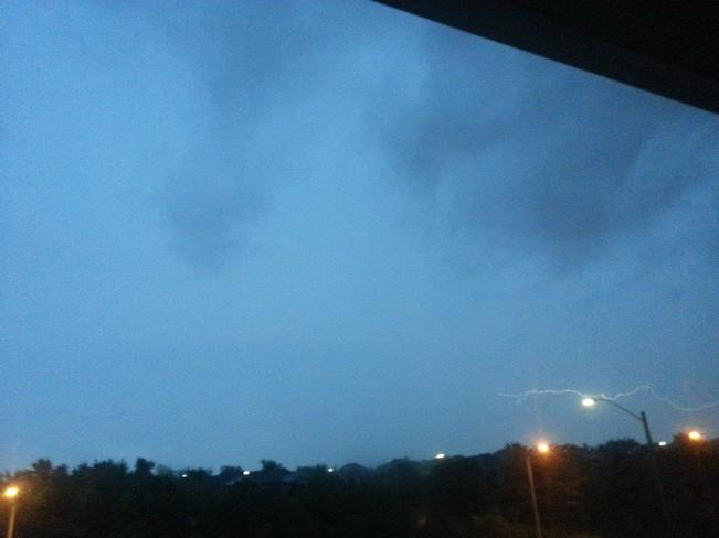 Active Weather on July 27, 2014 Mississauga, ON