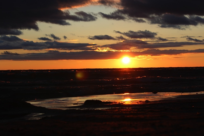 Beautiful Sunset Wasaga Beach, ON