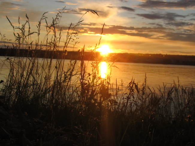 Sunset over the Miramichi River Miramichi, NB
