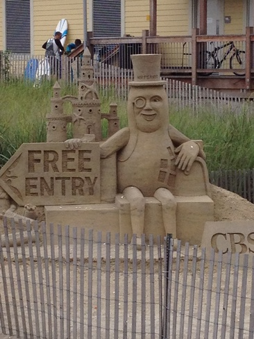 Atlantic City NJ sand wonders! Fonthill, Ontario Canada