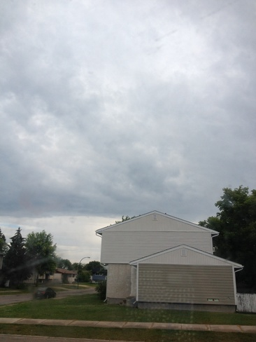 cloudy days Selkirk, Manitoba Canada