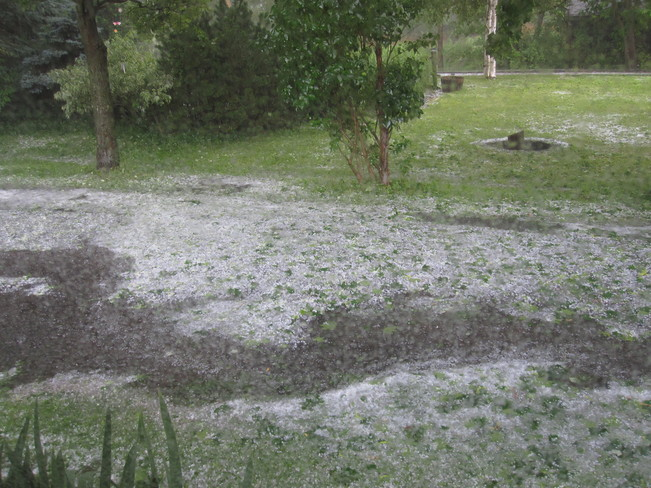 Hail Sharon, East Gwillimbury, ON