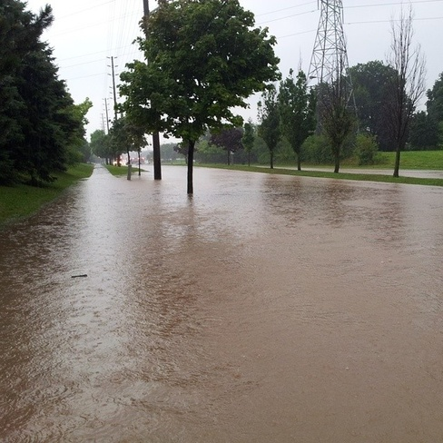 Flooding in Burlington Ontario 2925-3427 Concession Road 5, Loretto, ON L0G 1L0, Canada