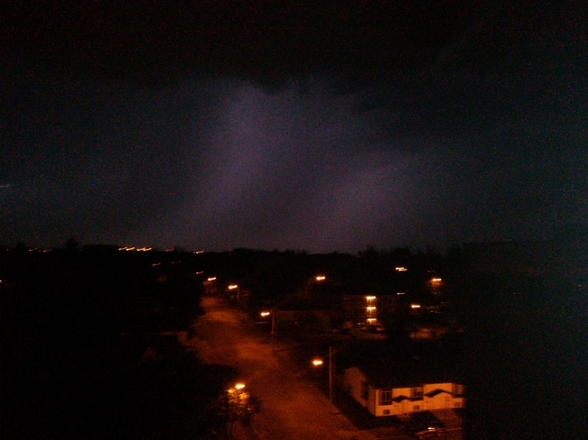 Amazing Lightning Display Medicine Hat, Alberta Canada