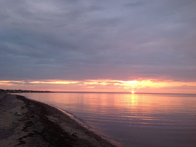Sunset in Paradise Salmon Beach, New Brunswick Canada
