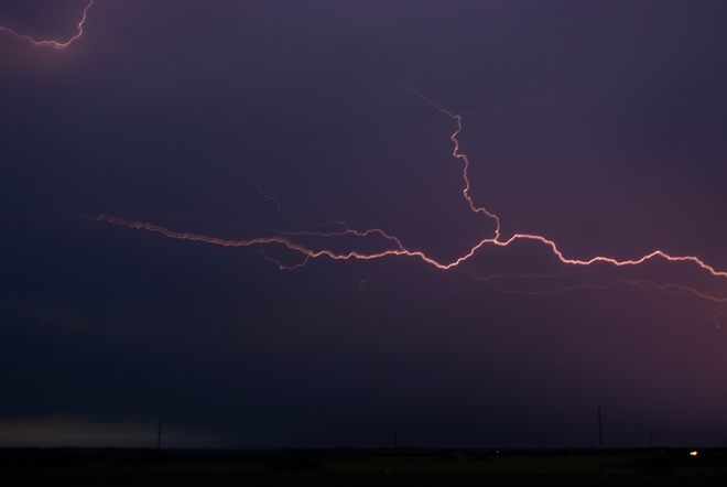 Spider Lightning August 6th, 2014 Leduc, AB