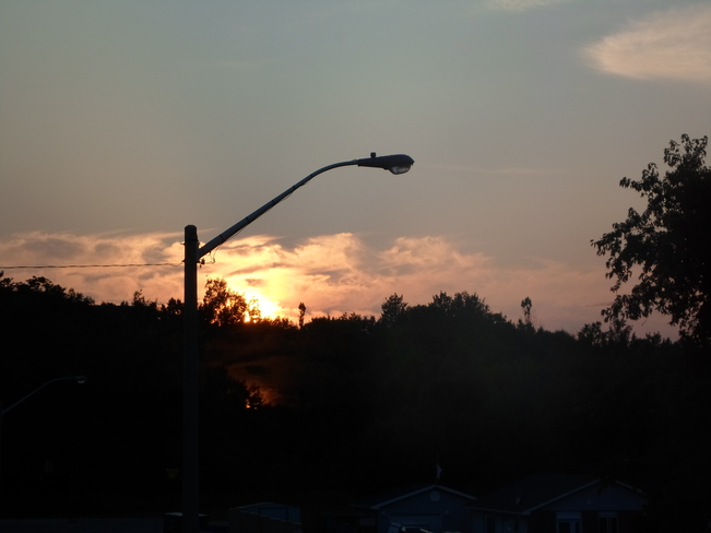 Beautiful SUNSET here in ELLIOT LAKE Elliot Lake, Ontario Canada