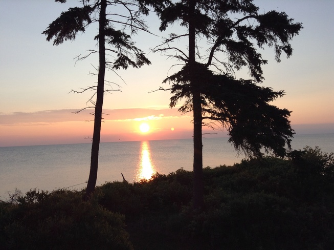 Sunrise at the cottage Northport, Nova Scotia Canada