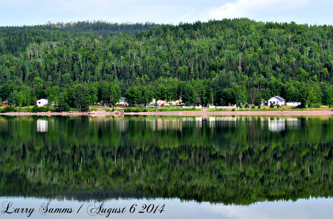 """Awesome Reflection"" Springdale, Newfoundland and Labrador Canada"