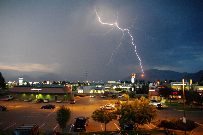 lightning show in kamloops kamloops bc