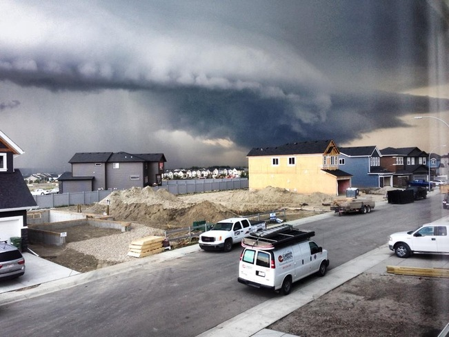 Airdrie Aug 7th Hail Storm Airdrie, AB