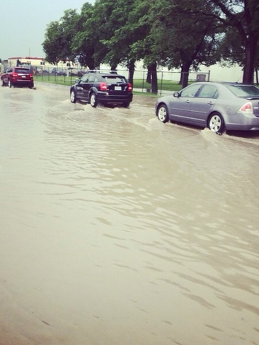 Flooding Seems Everywhere Regina, Saskatchewan Canada