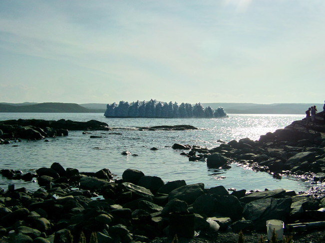this pic was taken at St.Anthony Bight,NL three days ago Saint Anthony Bight, NL