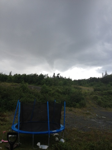 funnel cloud Spaniard's Bay, Newfoundland and Labrador Canada