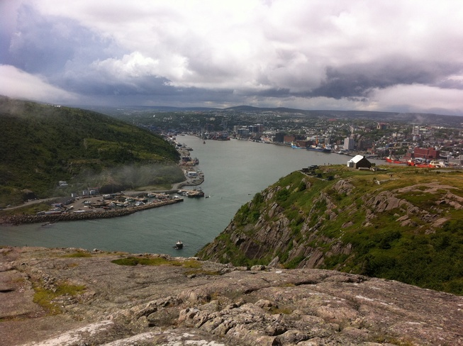 Storm clouds moving in. St. John's, Newfoundland and Labrador Canada