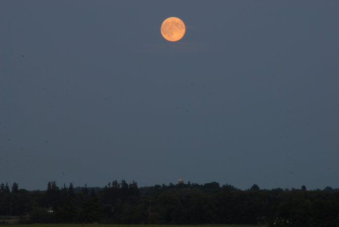 Supermoon Sunday Whitchurch-Stouffville, Ontario