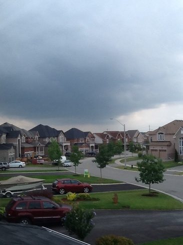 Severe thunderstorms Barrie, ON