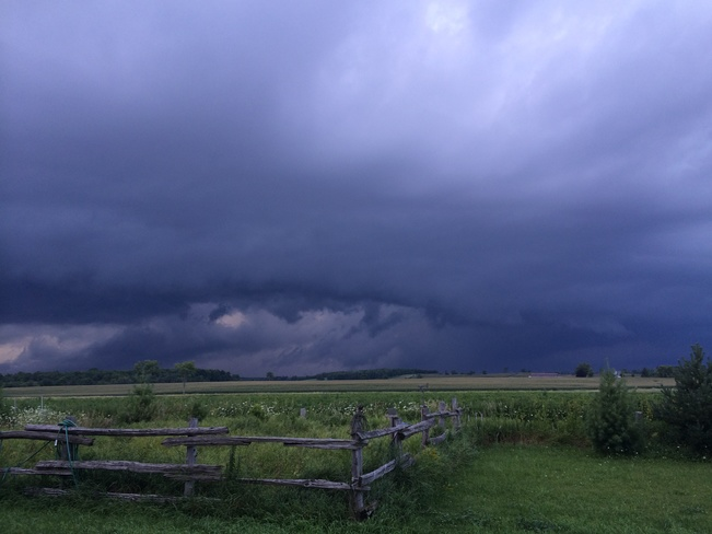 storms coming! Shelburne, Ontario Canada