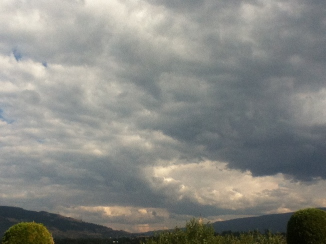 distant storm clouds? South Vernon, British Columbia Canada