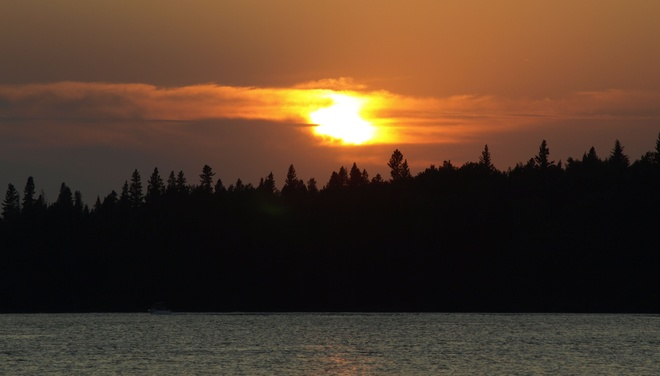 sunset Clear Lake 61A, Manitoba Canada