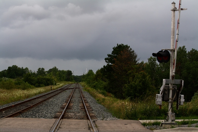 Track heading to storm... Scarborough, Toronto, ON