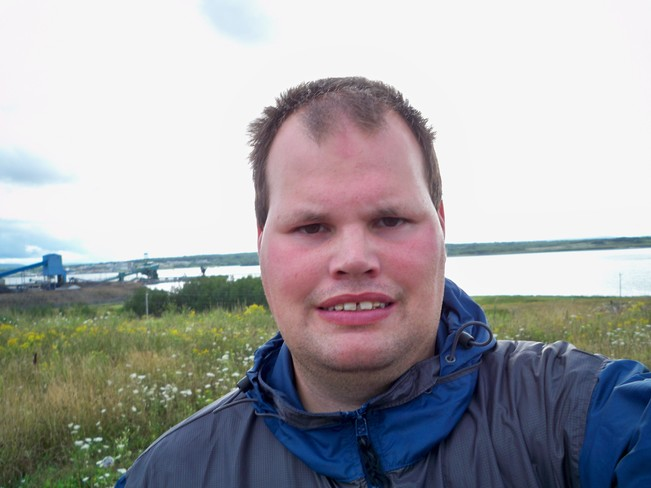 Cool and Windy Day Sydney, Nova Scotia Canada