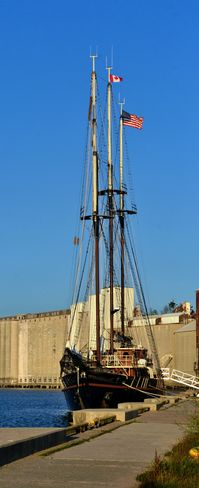 Tall Ship Peacemaker in Goderich Goderich, ON