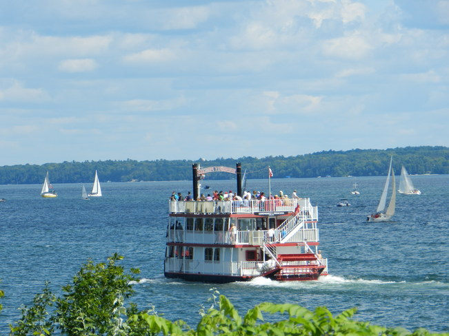A Great Sail Day on Kempenfelt Bay Barrie, ON