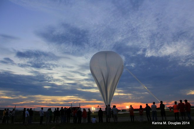 Evening Stratospheric Balloon Launch in Timmins Timmins, ON