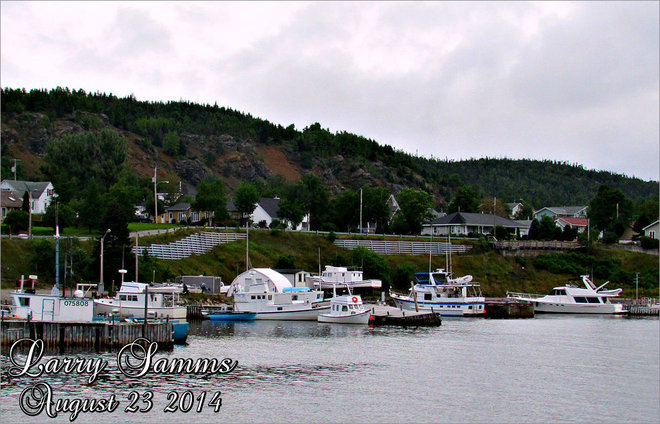 """The Harbour"" Springdale, Newfoundland and Labrador Canada"