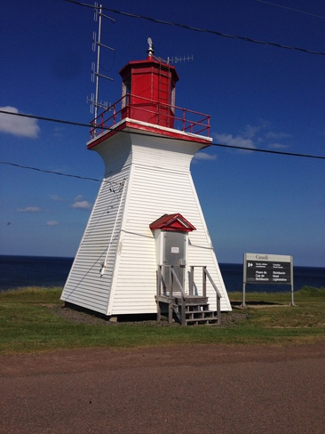 richibucto-cape lighthouse Big Cove, New Brunswick Canada