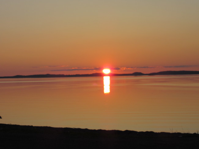 Sunset Birchy Bay, NL