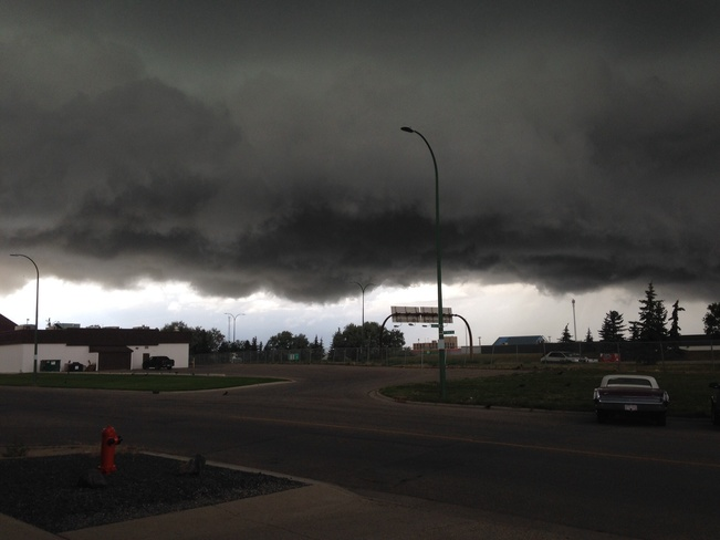 Scary skies Lethbridge, ab