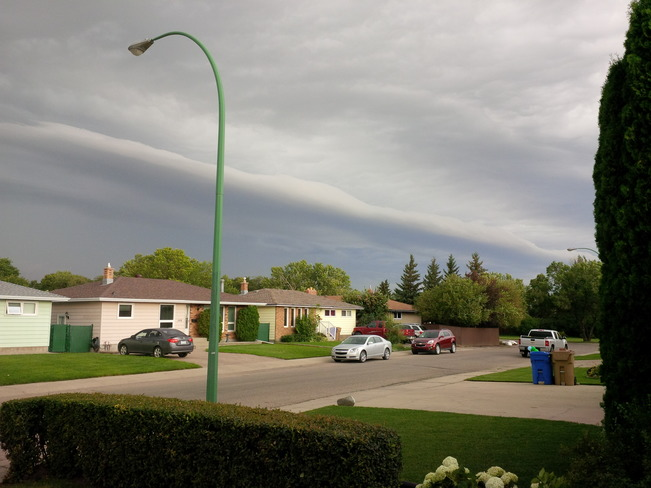 Here it comes!!! Regina, Saskatchewan Canada