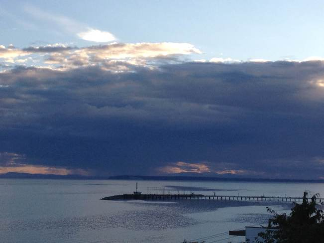 Rain on the West White Rock, British Columbia Canada
