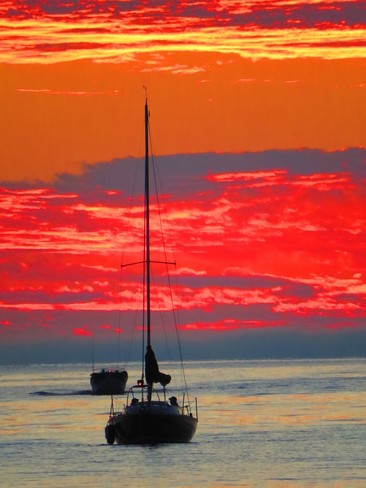 Sunset Sail Port Elgin, Saugeen Shores, ON