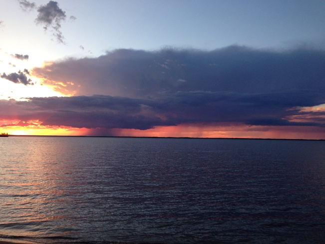 Storm on the Horizon Lac du Bonnet, Manitoba Canada