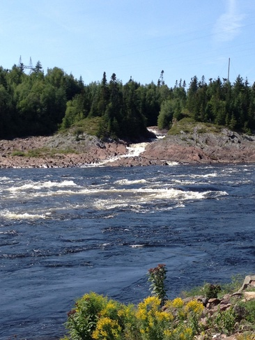water rapids Norris Arm, Newfoundland and Labrador Canada