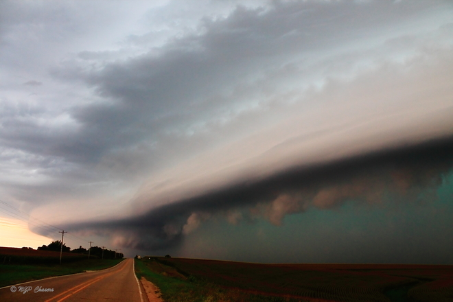 Iowa Shelf Cloud Sioux City, IA, United States