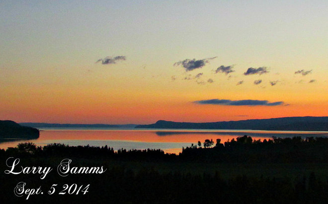 """Early Morning"" Springdale, Newfoundland and Labrador Canada"
