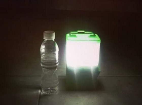 News - Lamp powered by salt and water shines on storm-torn areas - The Weather Network