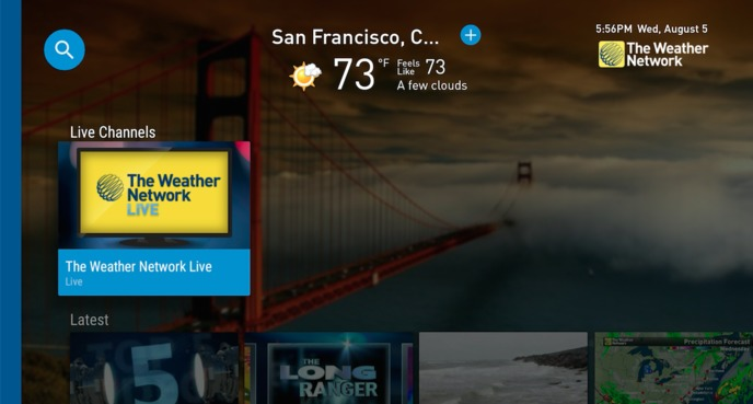 News - NEW: The Weather Network now on Android TV - The Weather Network