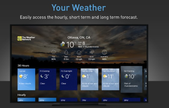 News - New weather app on Apple TV delivers localized
