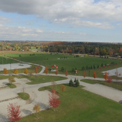 aerial fall scenes at Georgetown Park 2015