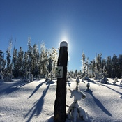 Stake Lake ski trails