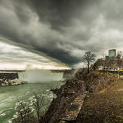 Slf Cloud over Niagara Falls