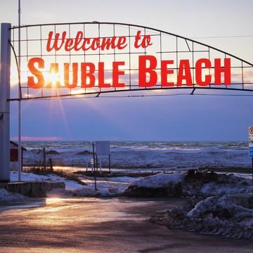 Colours & Textures of Sauble Beach