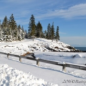 Winter on Campobello Island, NB, Canada