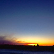 Warm Day Sunset